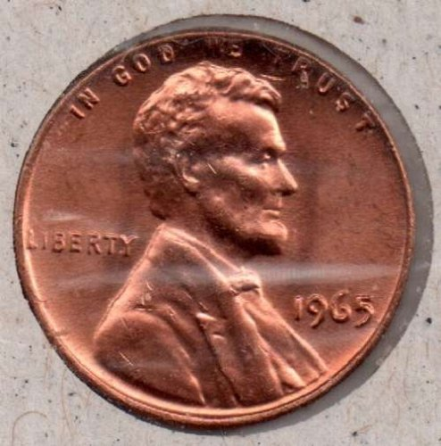 """965p Lincoln Memorial Penny ??DS"""""""" #4"""