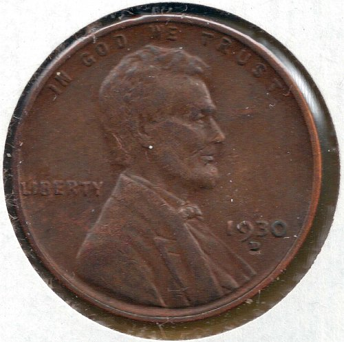 1930 D Lincoln Wheat Cent