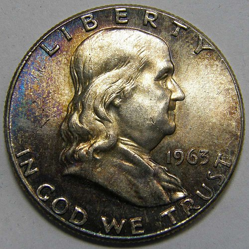1963 P Franklin Half Dollar #2
