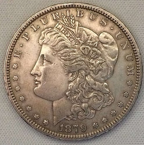 1879 P Morgan Dollar