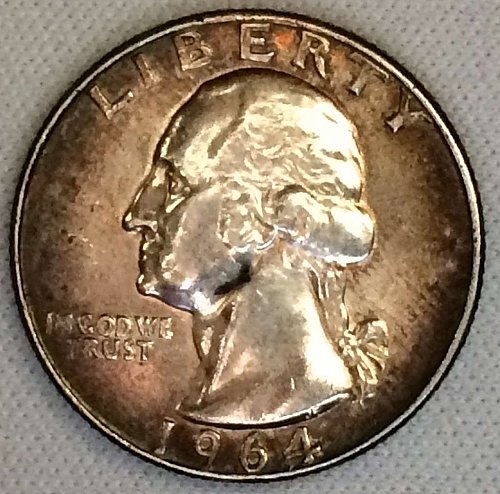 1964 P Washington Quarter