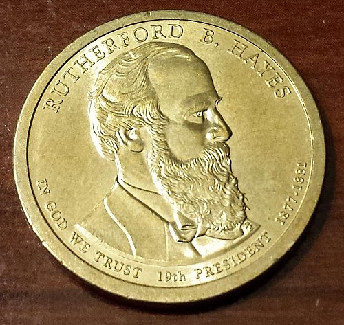 2011-P $1 Rutherford B. Hayes Presidential Dollar (5348)