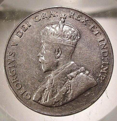 1922 Canada George V: Nice Nickel    CN-0000