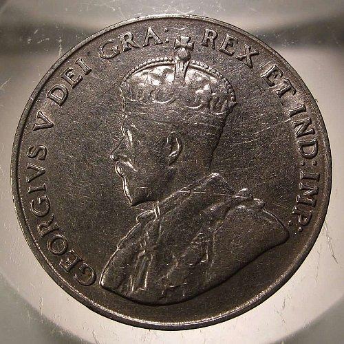 1923 Canada George V: Nice Nickel    CN-0002