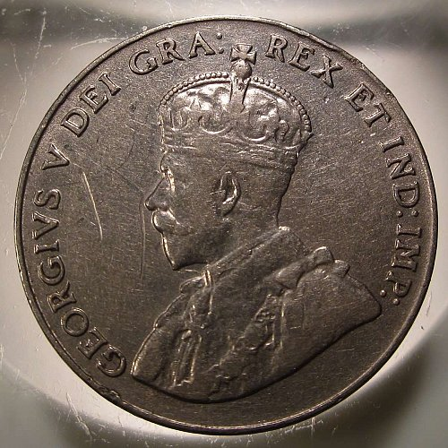 1928 Canada George V: Nice Nickel    CN-0005