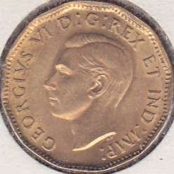 Canada 5 Cents 1943