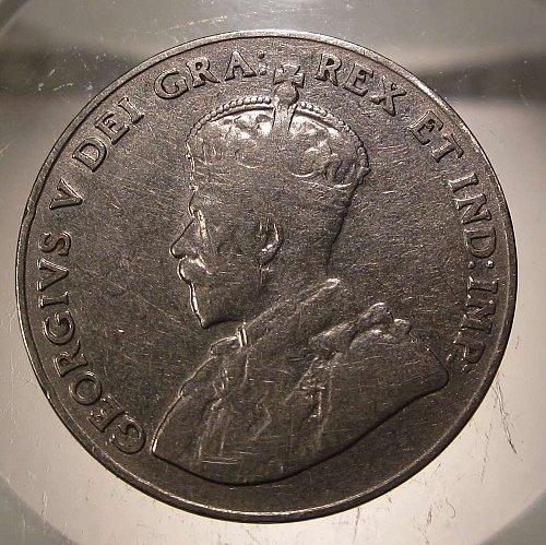 1929 Canada George V: Nice Nickel    CN-0006