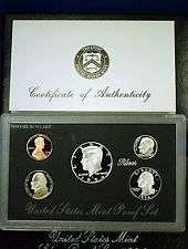 1994 S  SILVER PROOF SET