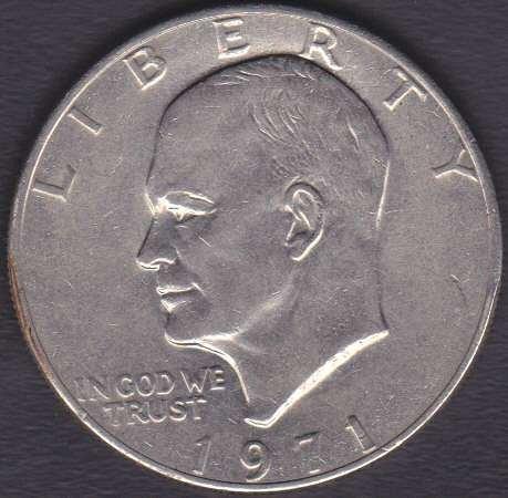 1971 P Eisenhower Dollar