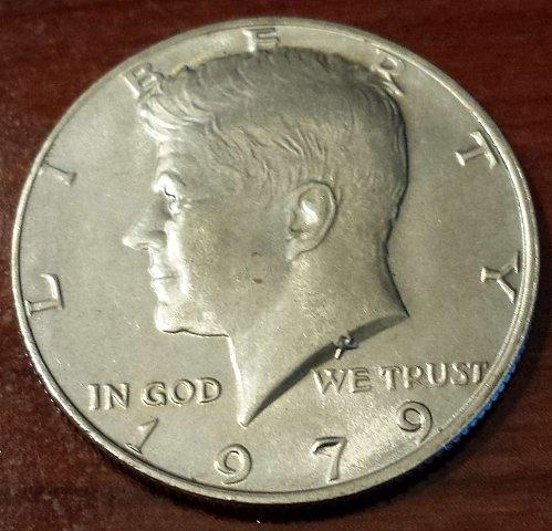 1979 Kennedy Half Dollar (5373)