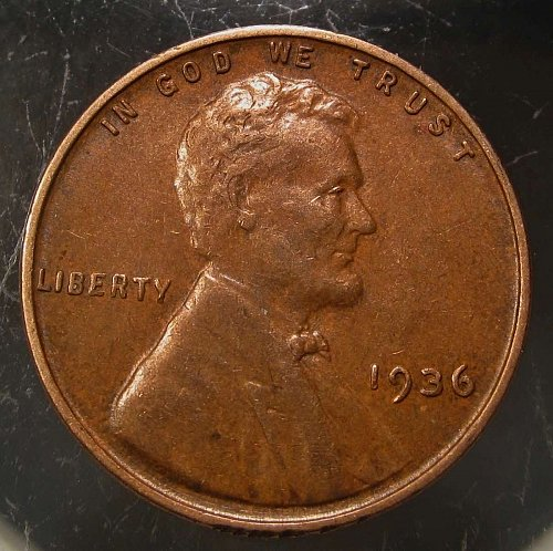 1936 Lincoln Wheat Cent Small Cents: Nice Penny