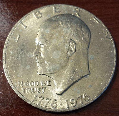 1976 Eisenhower Dollar (5401)