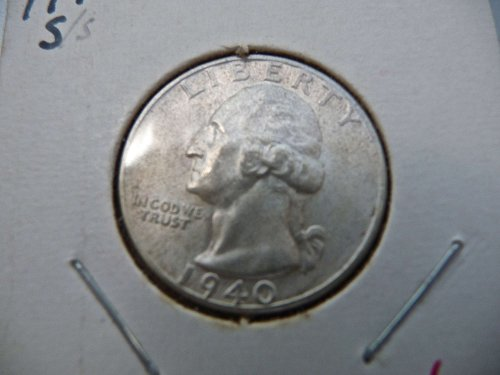 1940-S Washington Quarter