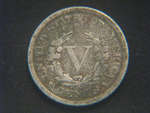 "1894 Liberty ""V"" Nickel"