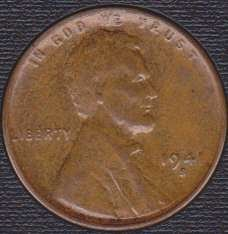 1941 S Lincoln Wheat Cent