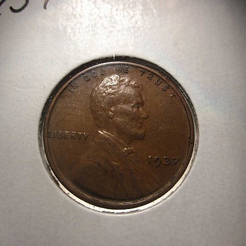 1937 Lincoln Wheat Cent Small Cents: Nice Penny