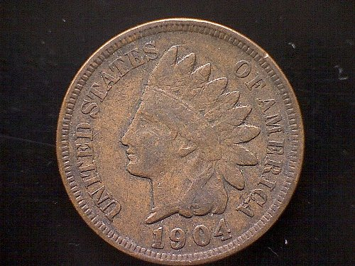 1904-P Indian Head Penny