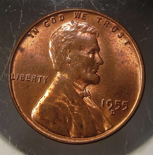 1955 D Lincoln Wheat Cent Small Cents: Nice Pennies
