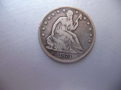 1873 Liberty Seated Half Dollar