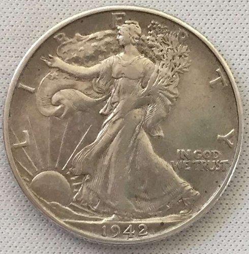 1942 D Walking Liberty Half Dollar