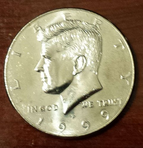 1999-P Kennedy Half Dollar (5490)