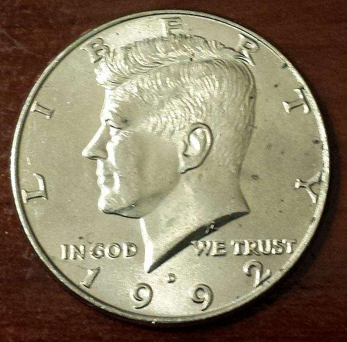 1992-D Kennedy Half Dollar (5496)