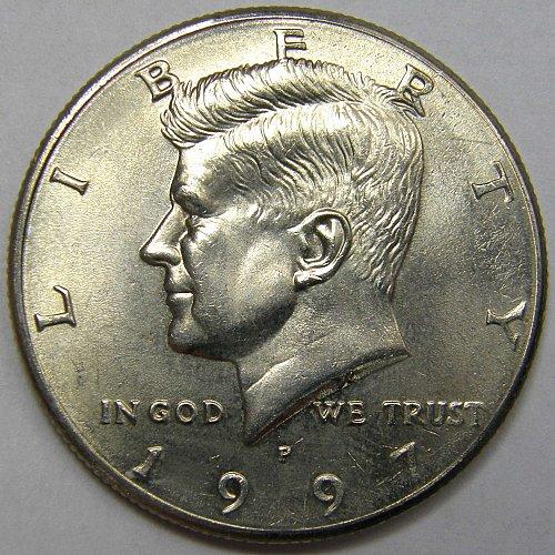 1997 P Kennedy Half Dollar #1