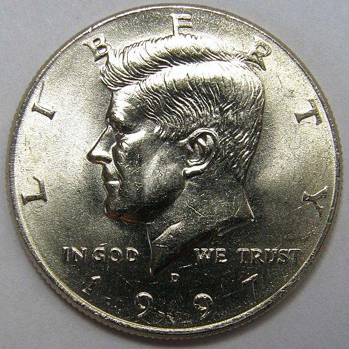 1997 D Kennedy Half Dollar #1