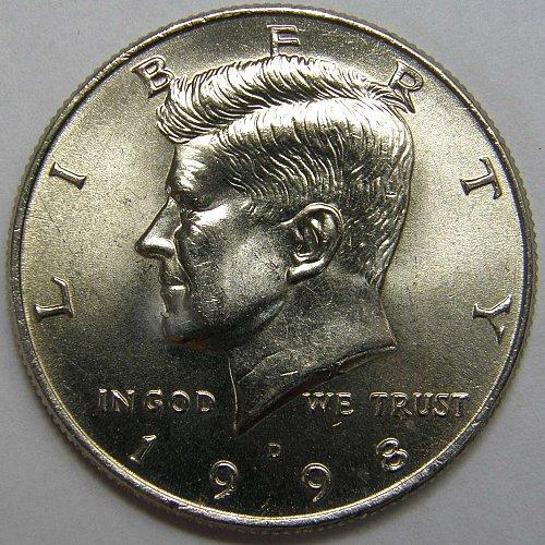 1998 D Kennedy Half Dollar #1