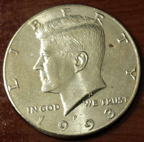 1993-P Kennedy Half Dollar (5523)