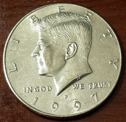 1997-P Kennedy Half Dollar (5525)