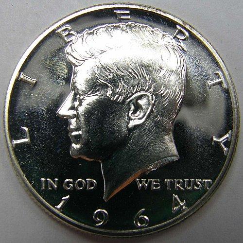 1964 P Kennedy Half Dollar #2 PROOF