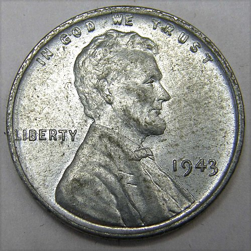 1943 P Lincoln Wheat Cent #1