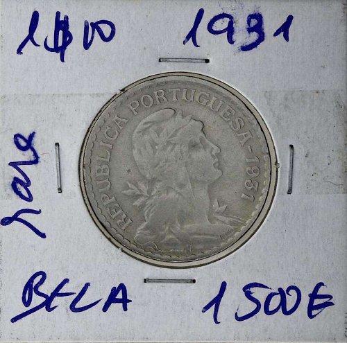 Portugal 1931 1 Escudo