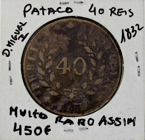 Portugal 1832 40 Reis