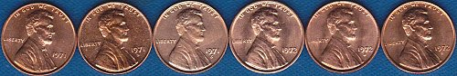 Lincoln Memorial Cents 1971P 1971D 1971S 1972P 1972D 1972S