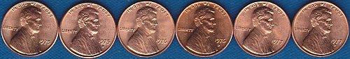 Lincoln Memorial Cents 1975P 1975D 1976P 1976D 1977P 1977D