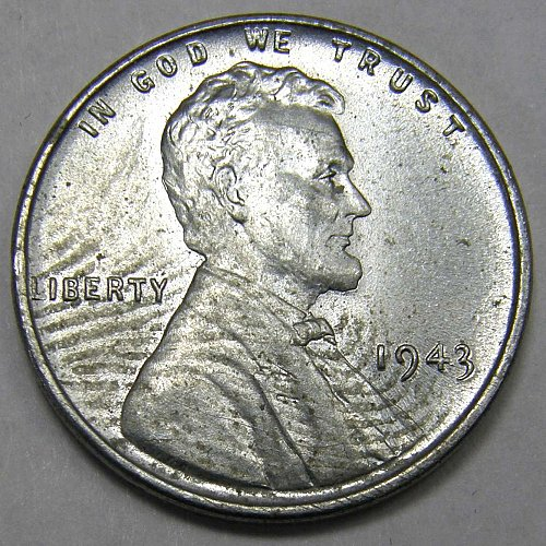 1943 P Lincoln Wheat Cent #2