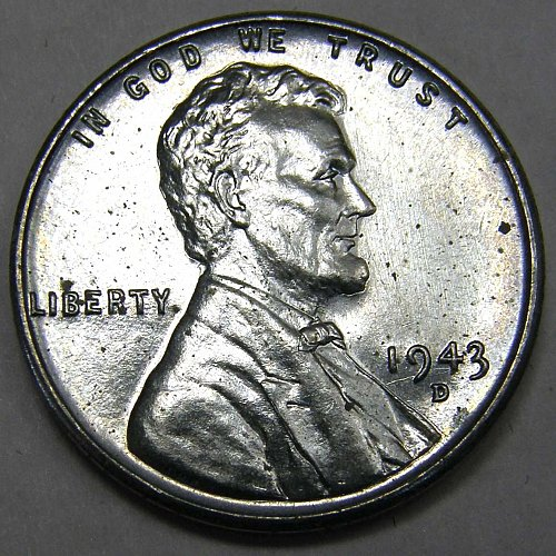 1943 D Lincoln Wheat Cent #2