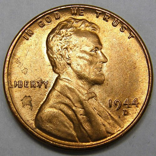1944 D Lincoln Wheat Cent #3