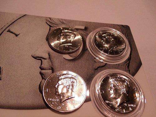 2014 Kennedy 50 cent piece set