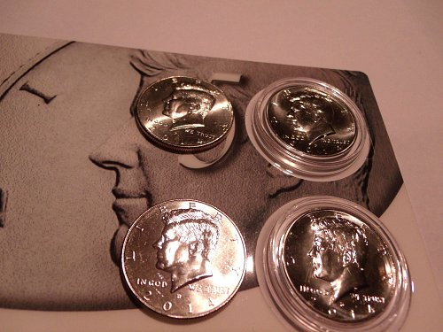 2014 Kennedy 50 cent piece set