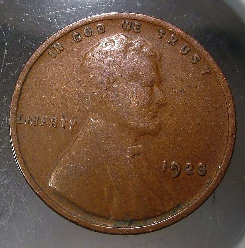 1923 Lincoln Wheat Cent Small Cents: Nice Penny