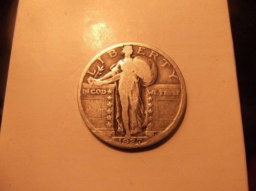 1927 D Standing Liberty
