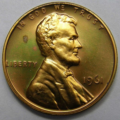 1961 P Lincoln Memorial Cent Proof #2