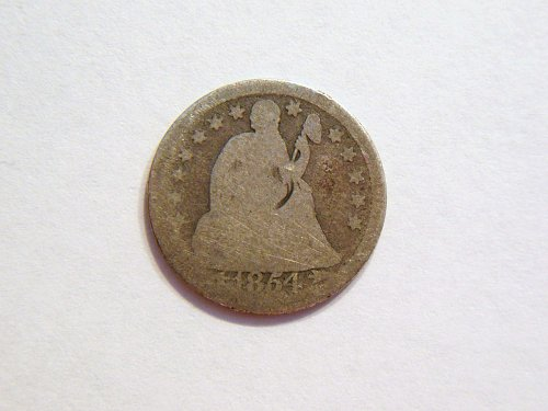 1854-P Silver Seated Liberty Dime