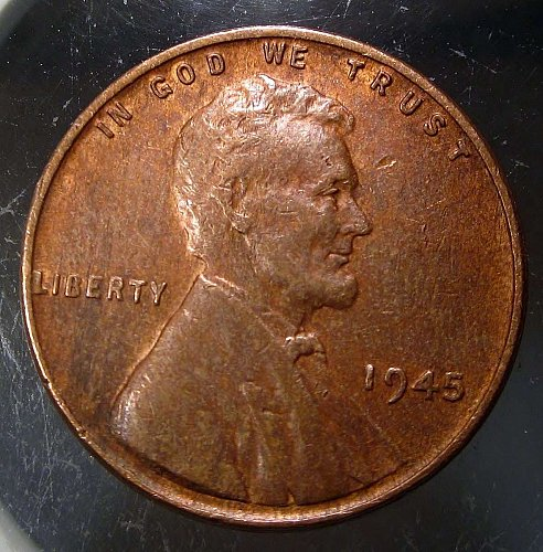 1945 Lincoln Wheat Cent Small Cents: Nice Penny