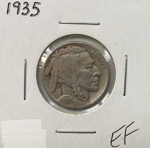 1935 P Buffalo Nickel