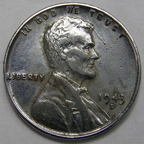 1943 D Lincoln Wheat Cent #3 RPM-004