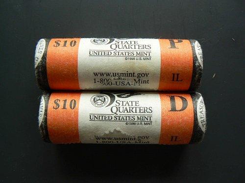 2003 P Illinois State Quarter
